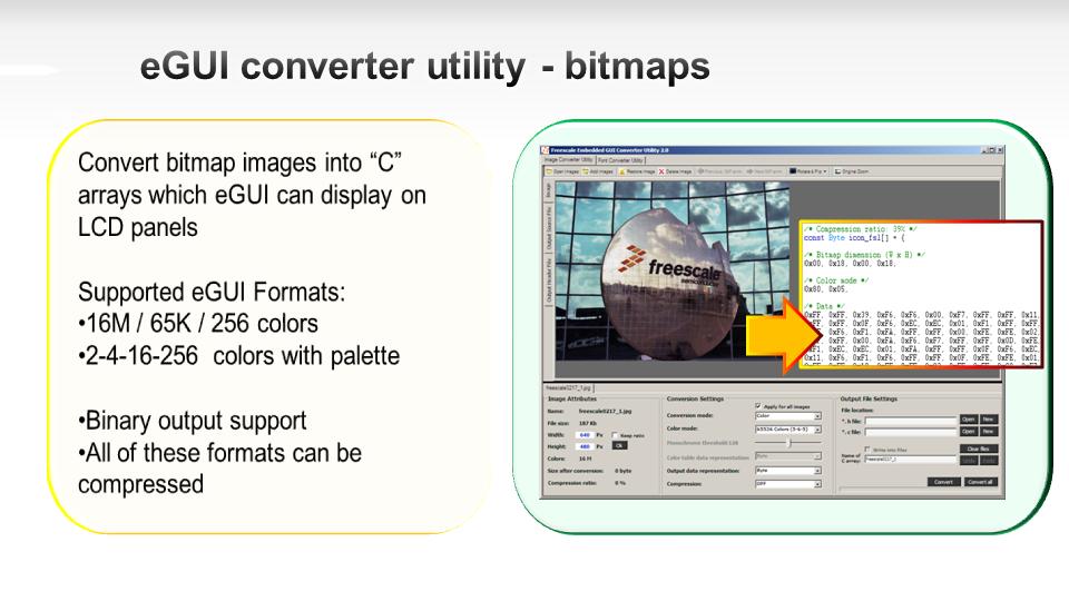 eGUI alias D4D: Converter utility